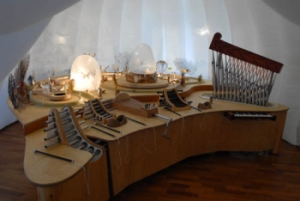 Extraordinary musical instruments in Orbis Pictus exhibition