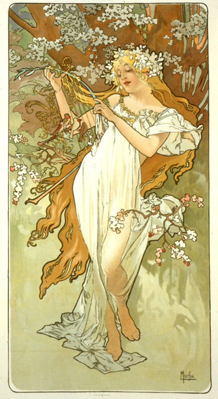 Spring by A. Mucha