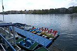 Paddle boat rental on the Vltava River