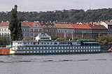 Boatel Admiral - the right bank of the Vltava