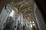 Interior of Brevnov Monastery