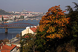 View of Prague Railway Bridge