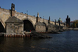 Pillars of Charles Bridge