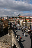 Nice walks on Charles Bridge