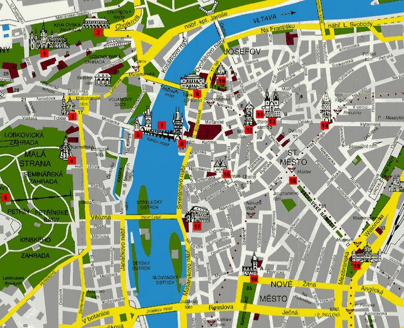 budapest city centre map pdf