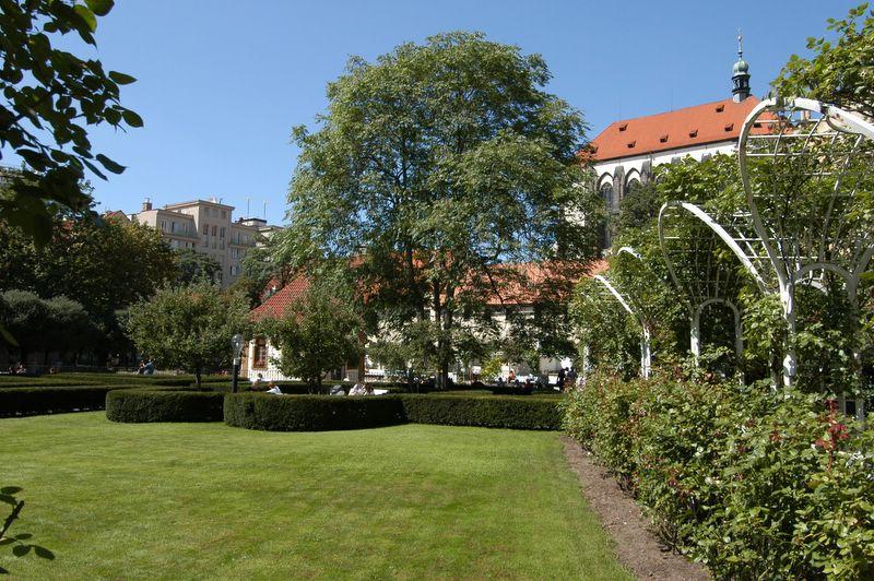 Franciscan Gardens Prague Images