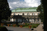 Belvedere - the Renaissance summer Palace in the Royal Gardens beside Prague Castle