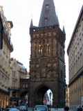 Renaissance Powder Gate in Prague
