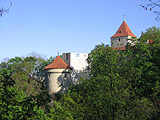 Daliborka Tower with Black Tower