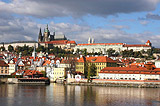 Prague Castle before the storm