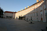 III courtyard of Prague Castle