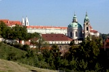 St. Nicholas and the Prague Castle