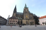 St Vitus Cathedral from the III courtyard