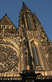Western Spire of St Vitus Cathedral