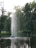 Fountain in Stromovka park