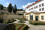 View of the Vrtba garden and palace
